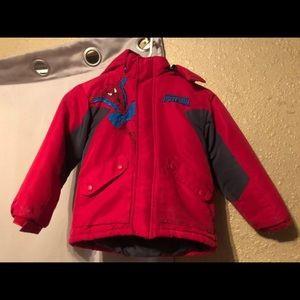 Spider-Man children's jacket